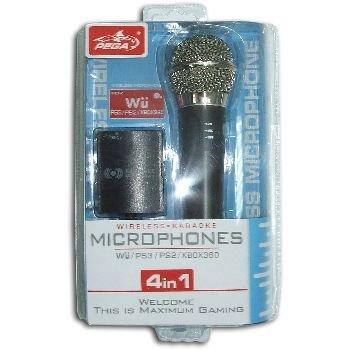 MICROFONO INALAMBRICO WII/PS2/PS3/XBOX360