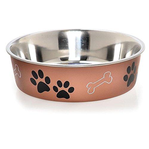 loving-pets-metallic-bella-bowl-dog-bowl-large-15-litre-copper