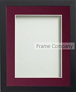 Frame Company Allington Range Picture Photo Frame with Plum Mount for Image Size A3 - 20 x 16 Inches, Black (B010QD6IQU) | Amazon price tracker / tracking, Amazon price history charts, Amazon price watches, Amazon price drop alerts