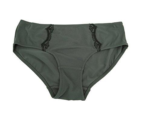 DKNY DONNA KARAN Luxus Hipster Slip, grau (M) (Panty Dkny Damen)