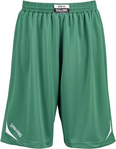 spalding-attack-herren-shorts-xxxx-large-grun-weiss