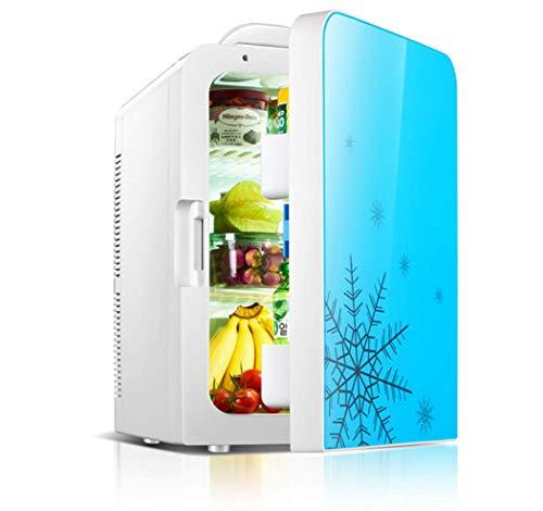 20L Autokühler Wärmer Tragbare Mini Kühlschrank 12 V DC 220 V Office Home Lebensmittel Heizung Getränkekühler Kühlschrank Reise, Picknick, Camping, Haus Und Büro (Camping-lebensmittel-heizung)