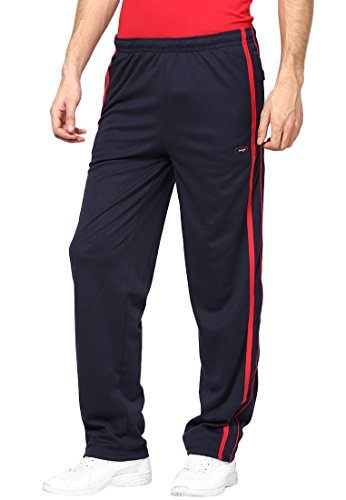 Berge Men's Polyester Cotton Track Pant (KP10NAVYXXL_Navy_XX-Large)