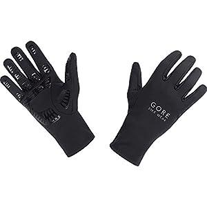 GORE BIKE Wear Guantes de Hombre para ciclismo, GORE Selected Fabrics, UNIVERSAL Gloves, Talla 6, Negro, GUNIVU990004