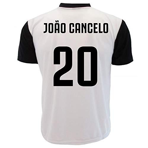 Maglia joao cancelo 20 t-shirt juventus replica neutra personalizzata ps 27400jc-12 anni