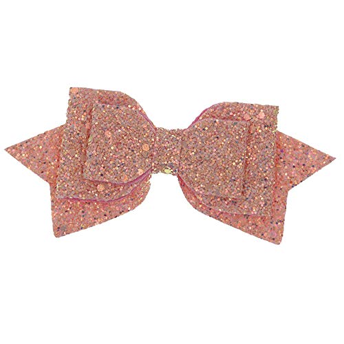 Neu Pailletten Flexibilität Schleife Haarkreis Damen Stirnband, LEEDY Frauen Mädchen Party Neuheit Design Haarband Kopfband Headband Stirnbänder Kopfbedeckung