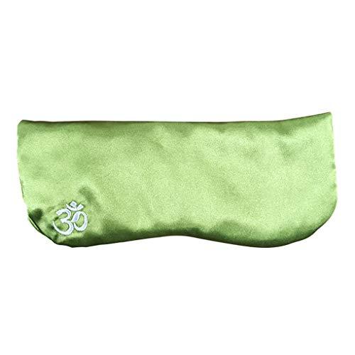 Providethebest Soie comme des Yeux d'oreiller Lavande Cassia Graine de détente Accessoires de Yoga Patch Amovible Pouch Eye