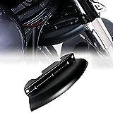 Mingshuai - Deflettore di Vento per Moto Harley Touring Street Glide 2014-2018
