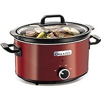 Crock-Pot Slow Cooker, 3.5 L - Red
