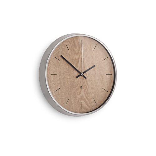umbra-118413-392-reloj-de-pared-madera-natural-y-niquel