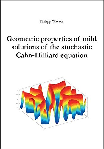 Geometric properties of mild solutions of the stochastic Cahn-Hilliard equation