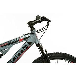 """Moma Bikes MTB Equinox Shimano Profesional - Bicicleta Montaña 27.5"""", Aluminio, Cambio TX-55 24 vel., Doble Freno Disco, Doble Suspensión, L-XL (1.80-2.00 m)"""
