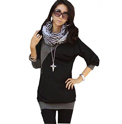 japan style von mississhop damen bluse longshirt tunika. Black Bedroom Furniture Sets. Home Design Ideas