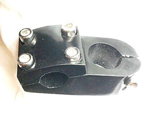 "Alu BMX Vorbau 50 mm Länge 1 1/8\"" 22,2mm, Fahrradlenkervorbau stem Schwarz (A1)"