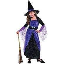 Christy Disfraz de bruja para niñas (4-6 años)