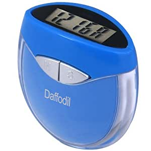 Step Counter with Calorie Calculator - Daffodil HPC907B - Track the Amount of Steps you take, Energy you Burn and Distance you Travel - Pocket Pedometer