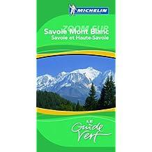 Guide Vert Savoir Mont Blanc
