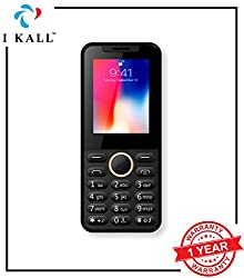 I KALL 2.4 inch Mobile with 1800 mAh Battery - K33 New (Black)