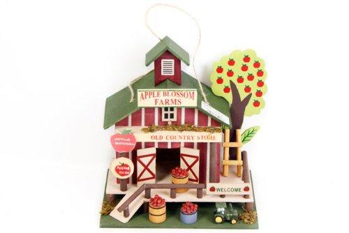 """Casetta per uccelli FATTORIA in legno """"Apple Blossom Farm"""""""