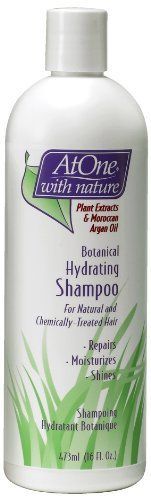 Botanical Hydrating Shampoo, Plant Extracts & Moroccan Argan Oil - 473ml by Biocare Labs
