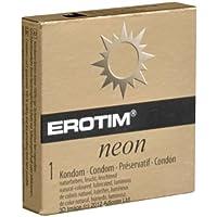 Erotim Neon - 1 Leuchtkondom, goldfarbene Packung! preisvergleich bei billige-tabletten.eu