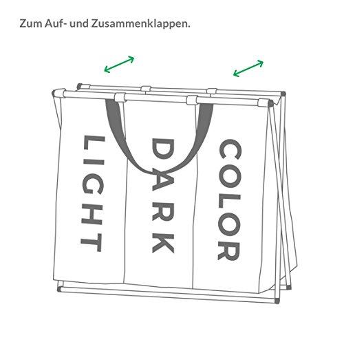 minuma w schekorb w schesortierer leicht und faltbar mit tragegriffen 111 liter. Black Bedroom Furniture Sets. Home Design Ideas