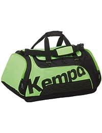 Kempa Sportline–Bolsa de deporte, color verde/negro, talla L, dimensiones: 72x 30x 41cm, 90litros de capacidad.