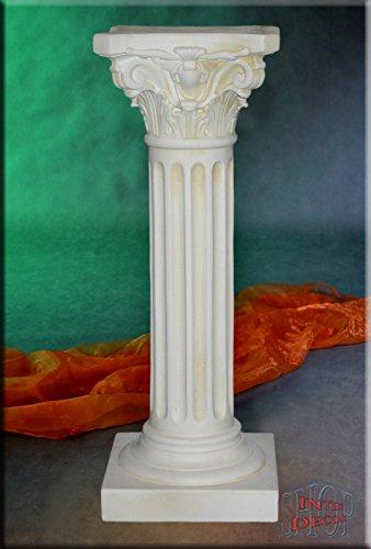 Griechische Säule Antik Blumensäule Dekosäule Blumenständer Pflanzenständer Podest