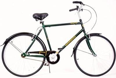 "Heritage Traditional Classic Mens Bike Basket 22"" Dutch Style Upright Handlebars"