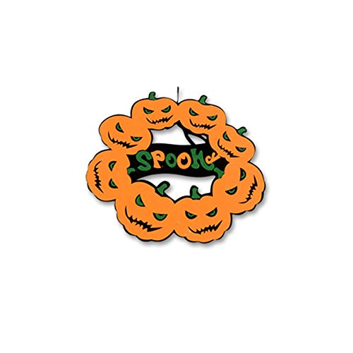 VIMOER Halloween-Hexen-Dekorationen, Hängepapier, Piratengefangener Reaper, Geisterhaus, Flucht Horror, Halloween-Dekoration, Gruselige Requisiten, 16#, ()