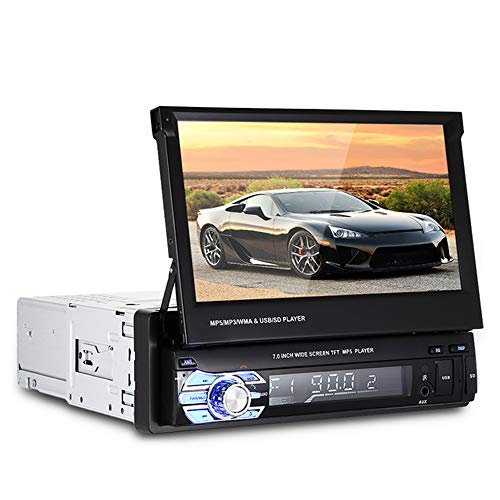 Boomboost 1 Din 7 inch 1080P Car radio Stereo car radio Player LCD touch screen support Bluetooth handsfree