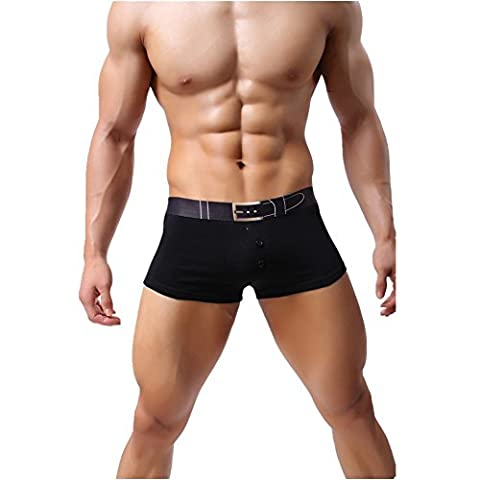 So Aromatherapy - Caleçon - Homme Large - Noir - Small