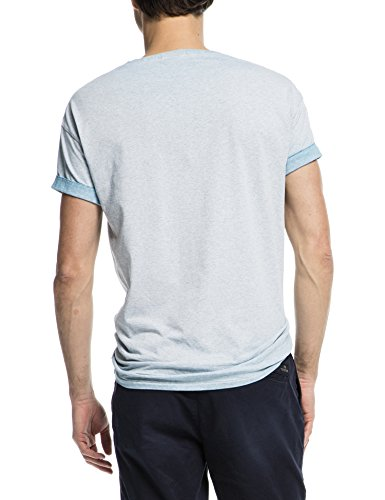 Scotch & Soda Herren T-Shirt 16010251106 Blau (blue melange 500)