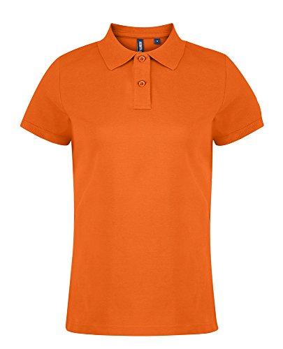 Asquith Fox - Polo - Femme Orange - Orange