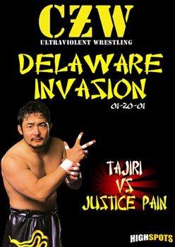 CZW- Combat Zone Wrestling- Delaware Invasion DVD-R