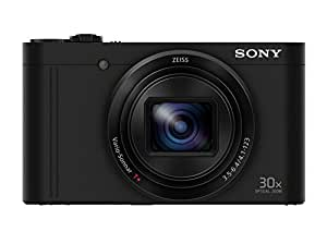 Sony DSC-WX500 Fotocamera Digitale Compatta Cyber-shot, Sensore CMOS Exmor R da 18,2 Megapixel, Obiettivo Zeiss Vario-Sonnar T* con Zoom Ottico 30x, Nero