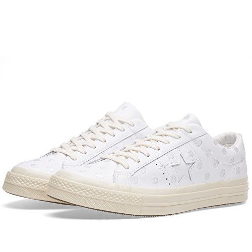 Converse , Damen Sneaker Low-Tops , weiß - weiß - Größe: 39...