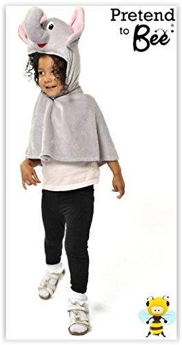 Kids - Disfraz de elefante para niño, talla 3-5 años (9968)