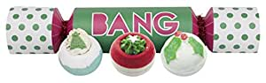 Bomb Cosmetics Bang Cracker Handmade Bath Blaster Gift Pack [3 x 160g]