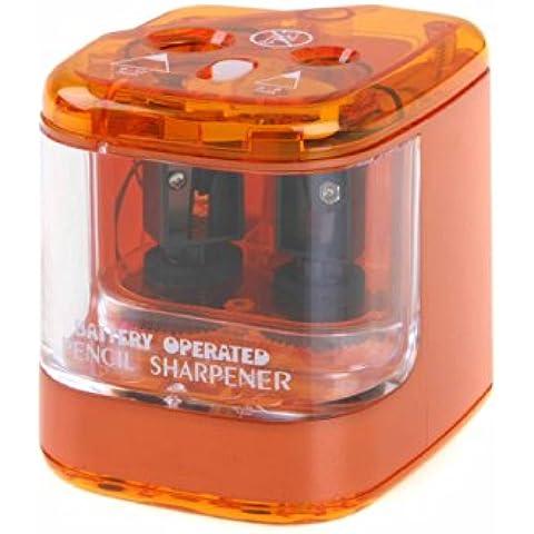 Jakar - Temperamatite a batteria, doppio foro (i colori possono variare)