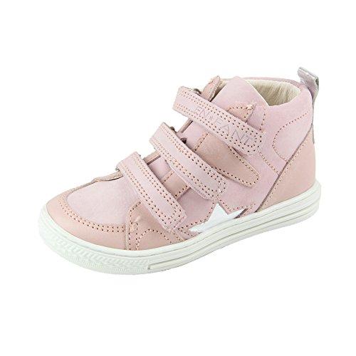 EnFant Mädchen Baby- und Kinder Turnschuhe mit hohem Schafft, Basket Star, 814680 Rosa