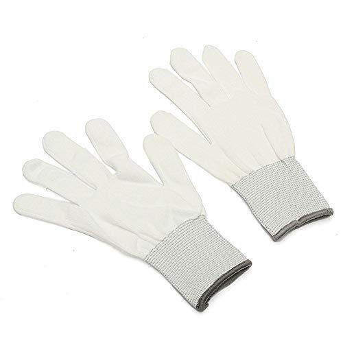 Preisvergleich Produktbild Househome Baumwoll Handschuhe,  Handschuhe,  6 Paar In Weiß,  100% Baumwolle,  Ohne Noppen,  Kochfest,  Keine Fingerabdrücke Mehr Bei Der Reinigung Ihrer Technik,  Weiß