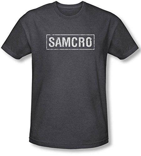 Sons Of Anarchy, Samcro-Maglietta da uomo grigio Large