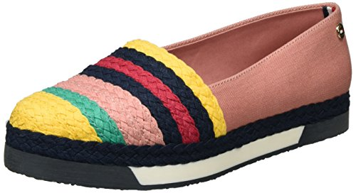 Tommy Hilfiger Damen Y1285ORK 1S Slipper, Pink (Rose Dawn-Old Gold 901), 39 EU