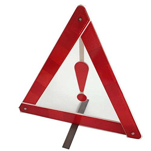 Q4 Auto Warndreieck; - Rote Reise faltet Ausruf, reflektierendes Notsicherheitsdreieck