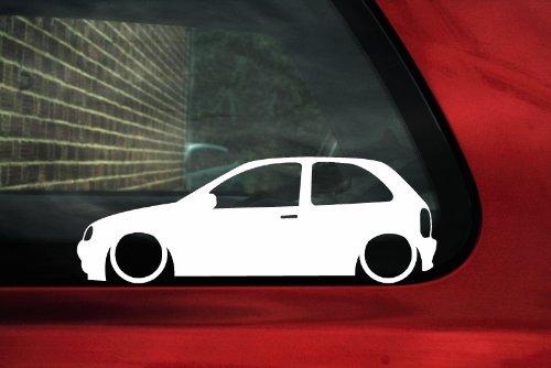 Adhesivo para Opel Corsa B (3puertas) - Assetto Ribassato