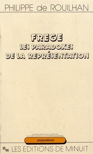 Frege : les paradoxes de la représentation