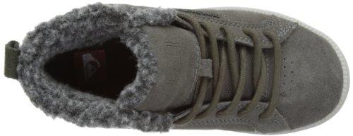 Quiksilver LITTLE AREA 5 MID KTBSL022-GGNS Jungen Chukka Boots Grau (GREY GREY NAVY)