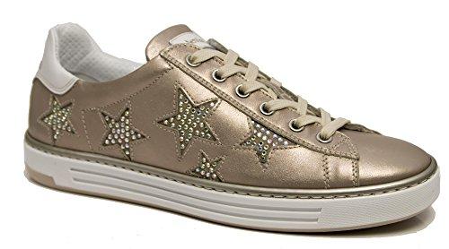 Nero Giardini Sneaker P805272-671 5272 Scarpe Donna Sportive con Stelle Rosa