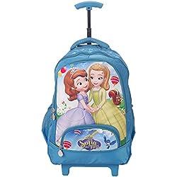Disney School Trolley Bag For Boys & Girls 07+ Years Trolley Sofia 24 (L) Blue (At-0019)